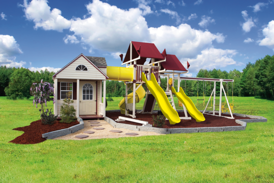 SK-60 Cottage Escape playhouse and playset